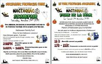Halloween Scarefair -Mactaquac Park - Sat. Oct. 24th,3-9pm FREE!