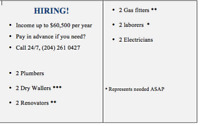 WE ARE HIRING WORKERS !!