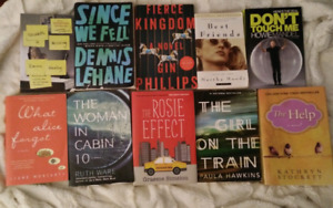 Books for sale, $3 each