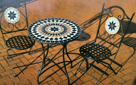 Mosaic Bistro Furniture Set