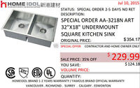 Home Idol SINKS AND GARBURATOR 60% off, crazy sale - $10