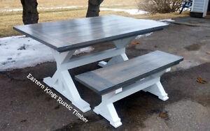 Modern Rustic X Base Table