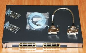 Cisco Catalyst WS-C3750G-24T-S v05 24port switch