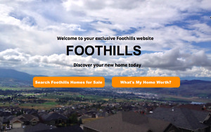 Foothills Real Estate Info - house values & homes for sale
