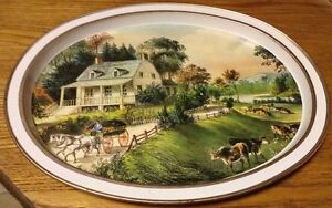 VINTAGE  THE AMERICAN HOMESTEAD-SUMMER 1868 BY CURRIER & IVES Gatineau Ottawa / Gatineau Area image 9