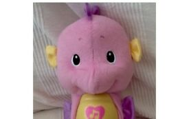 Fisher Price seahorse with nightlight