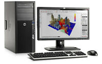 hp compaq 8000 desktop with A Moniter for sale.