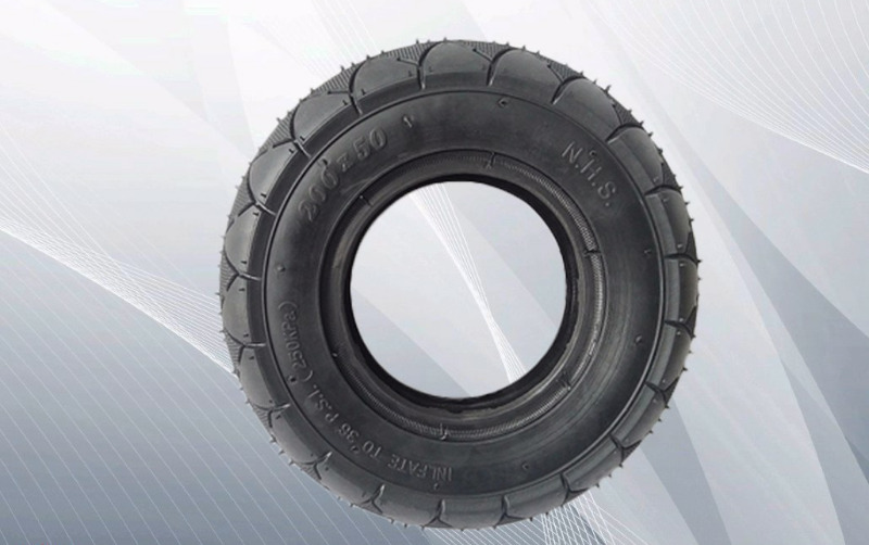 "New 200 x 50 (8"") pneumatic outer tire for speedway mini escooters"