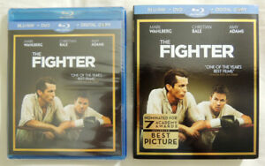 The Fighter Bluray + DVD + Digital Copy NEW