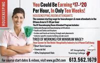 You Could Be Earning $17-$20 per hour