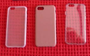 IPHONE 6 CELL PHONE CASES - $ 20 FOR ALL 3