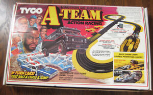 Vintage 83 A-Team Action Racing