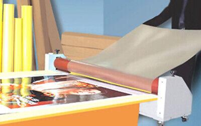 Cold Laminating Film 25x180 In 3mil Glossy Uv Luster Vinyl Laminator