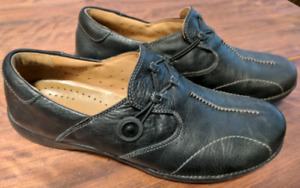 Unstructured Clarks shoes