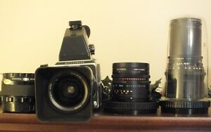 Hasselblad 2.5in by 2.5 in film CM-500 Proffesional Camera