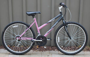 "Supercycle SC1800 Women's Girls Bike 17"" 26"" Pink Black"
