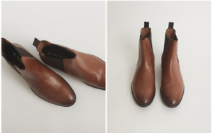 Idle Man Leather Chelsea Boot Tan - $80