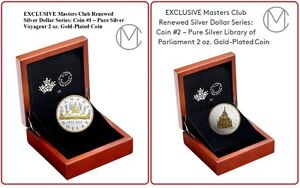 EXCLUSIVE Masters Club Renewed Silver Dollar Coins