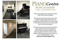 Piano Lessons in West Edmonton - Piano Centre Music Academy