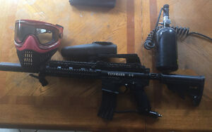 Tippaman A5 Remote Trigger +attachments+hoppers & mask