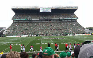 3 AMAZING midfield tickets for Riders vs Lions!