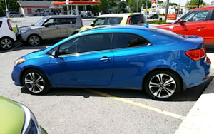2015 Kia Forte Koup EX 6spd-manual 55000km