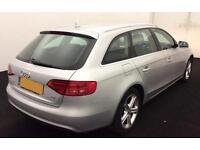 Audi A4 Avant 2.0TDI ( 143ps ) Multitronic 2013MY SE Technik FROM £67 PER WEEK !