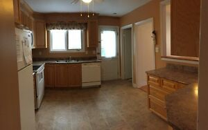 3 bedroom main floor apt on Old Topsail Rd available immediately