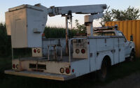 1994 Ford Super duty Altec Bucket truck 37' reach