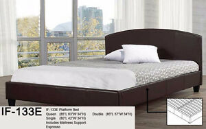 DOUBLE PLATFORM BEDS (See Descriptions) - FREE- FAST DELIVERY