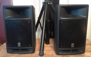 Yamaha PA system 8 chanel excellent condition