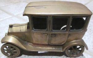 "Antique Cast Iron Toy Car – 6.25"" Long x 2.75"" Wide x 3.75"" High Cambridge Kitchener Area image 4"