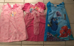 3 Disney store nightgowns