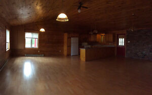 1 bedroom in log home with garage