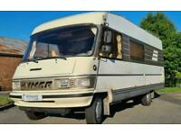 Hymer B654 - 1990 - LHD - Rear Fixed bed - 6 Berth