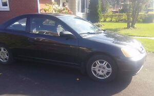 2001 Honda Civic automatique Coupé (2 portes)