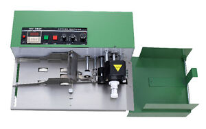 MY-380F SOLID INK CODING MACHINE 110V printing label on paper