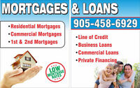 1st & 2nd MORTGAGES / PRIVATE / BAD CREDIT / DEBT CONSOLIDATION