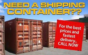 Fantastic B Grade shipping containers in Shepparton VIC Shepparton Shepparton City Preview