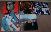 5 ROLLING STONES AND 5 BOB DYLAN RECORDS FOR SALE