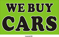 ~ We Buy Cars For Cash ~  647-704-8500