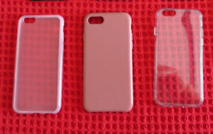 iPHONE 6 CELL PHONE CASES FOR SALE - ALL 3 FOR $ 20
