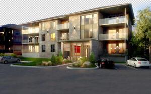 Magnifique condo de luxe, 4 ½ avec un espace de garage