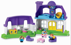 New - Fisher Price Little People - Happy Sounds Home - $40 value