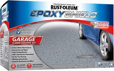 2 Ea Rustoleum 251965 1 Gallon Epoxy Shield Gray Garage Floor Paint Kits