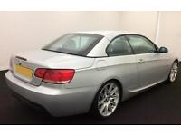 BMW 330d 3.0TD auto 2008 M Sport Convertible FROM £41 PER WEEK!