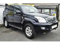 2006 56 TOYOTA LAND CRUISER 3.0 INVINCIBLE D-4D 8STR 5D AUTO 202 BHP DIESEL