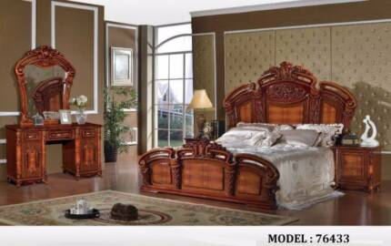 Buy direct from importer 5 PCS bedroom suites, Brand new $1999