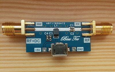Bias Tee Wideband 1- 6000 Mhz For Ham Radio Rtl Sdr Lna Low Noise Amplifier