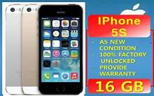 AS NEW IPHONE 5S UNLOCKED WARRANTY Strathfield Strathfield Area Preview